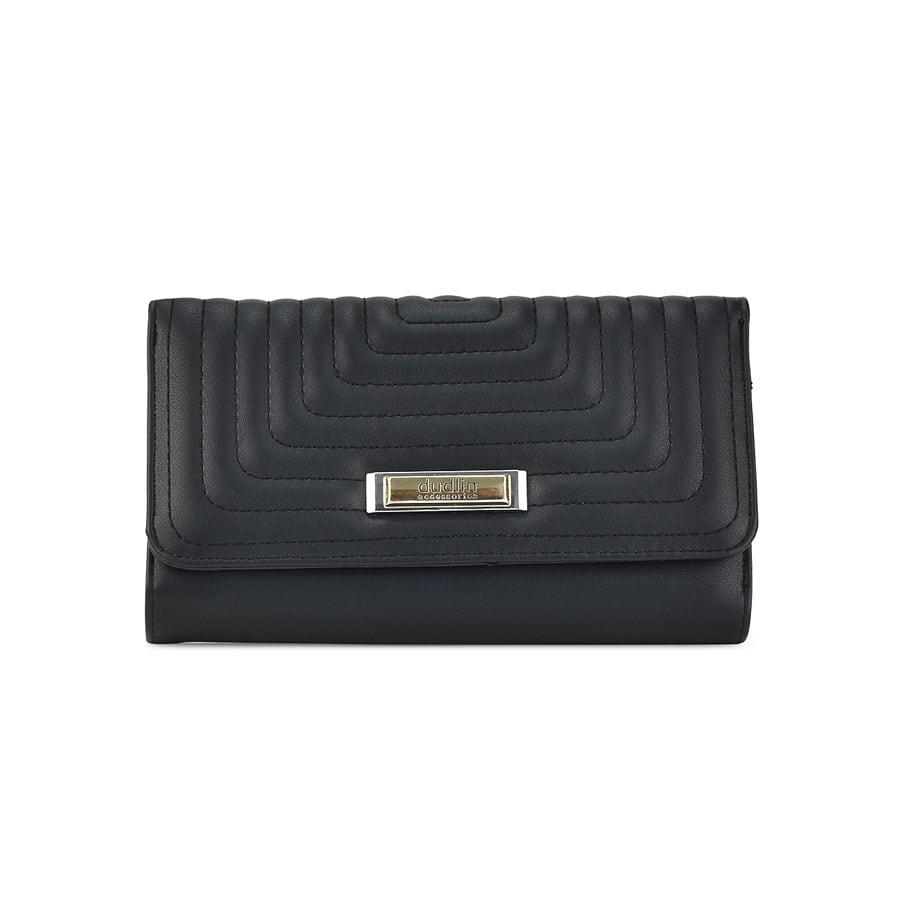 Μαύρο πορτοφόλι M582