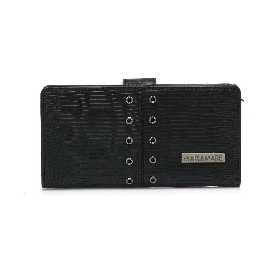 Μαύρο πορτοφόλι MariaMare EDA