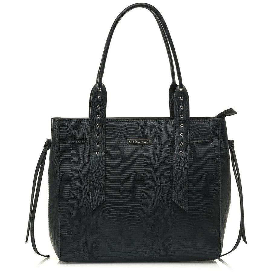 Μαύρη τσάντα ώμου MariaMare EDEN
