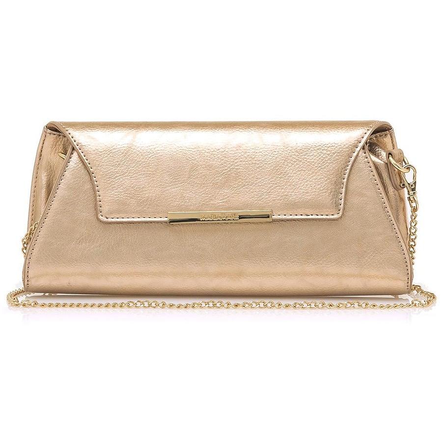 Ροζ χρυσή τσάντα χειρός MariaMare EIMI
