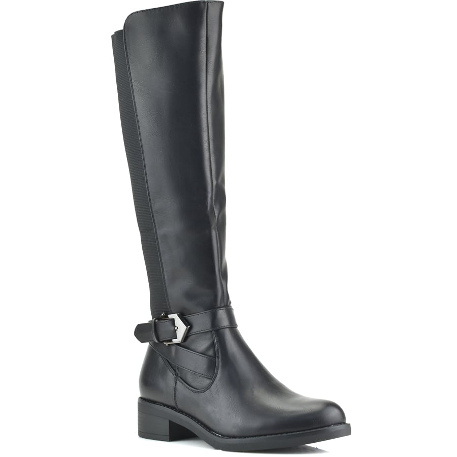 Μαύρη μπότα FR321
