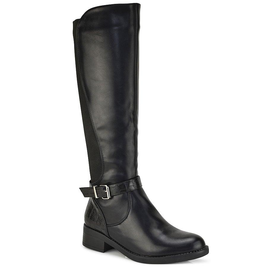 Μαύρη μπότα FR359