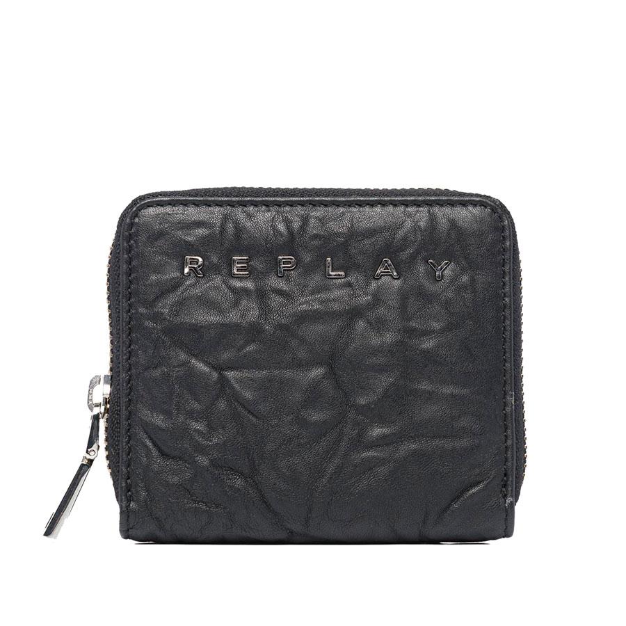 Μαύρο πορτοφόλι REPLAY FW5244