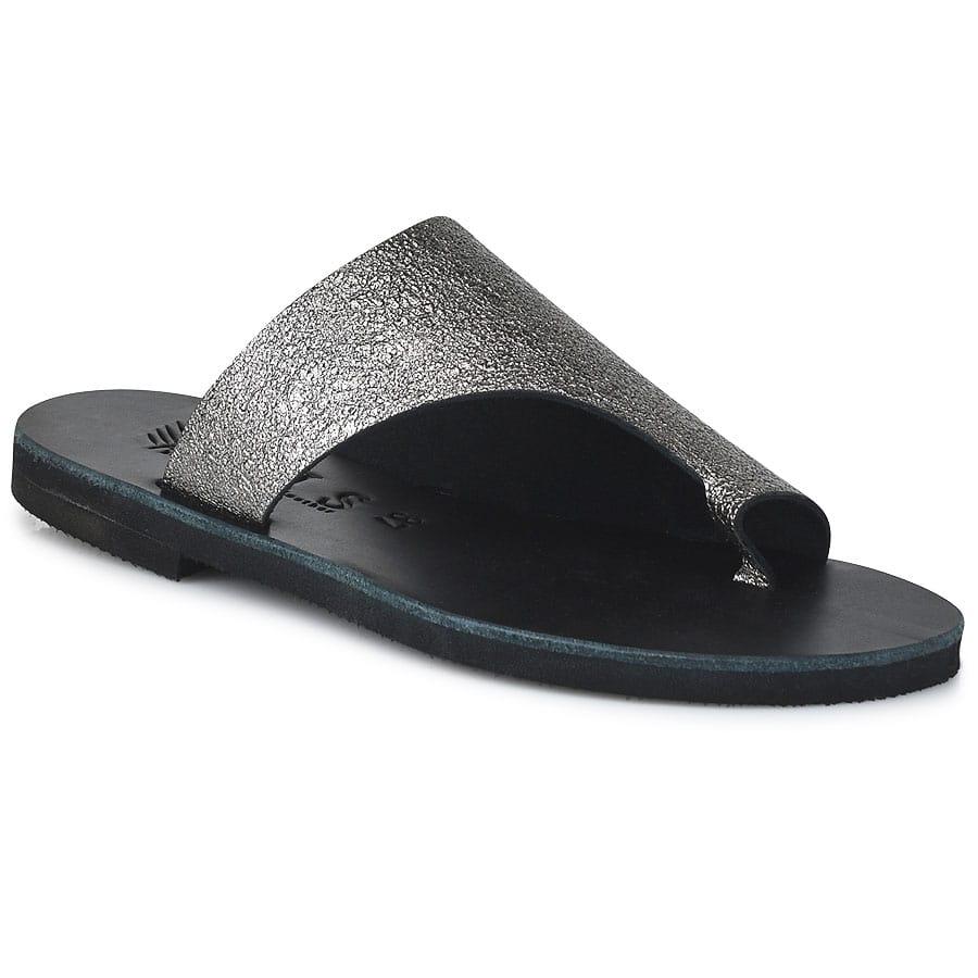 Δερμάτινη ατσαλί σαγιονάρα Iris Sandals IR20/4