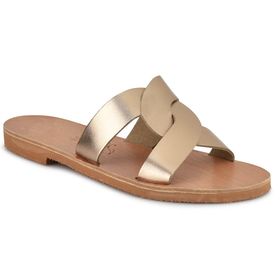 Δερμάτινη μόκα σαγιονάρα Iris Sandals IR9/2