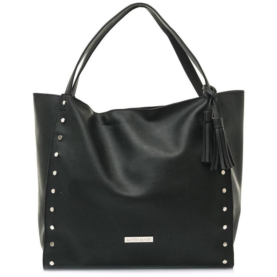 Μαύρη τσάντα ώμου MariaMare LARS
