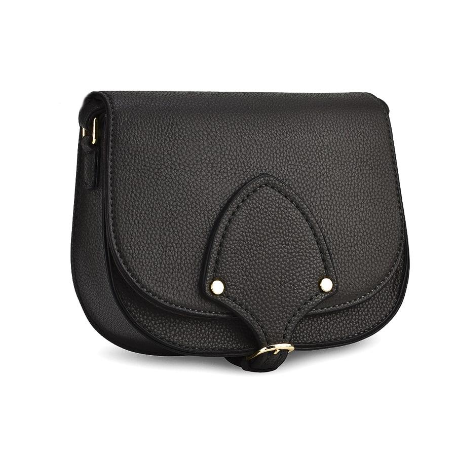 Μαύρη τσάντα χιαστί M98-74