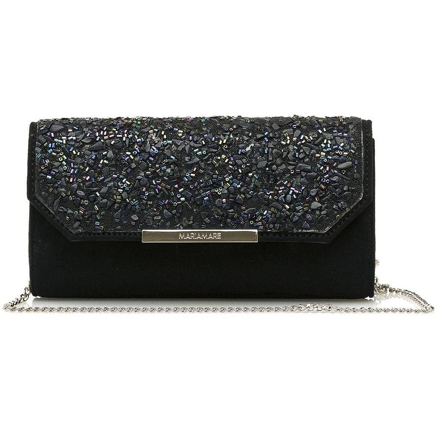 Μαύρη βραδυνή τσάντα MariaMare MELODY