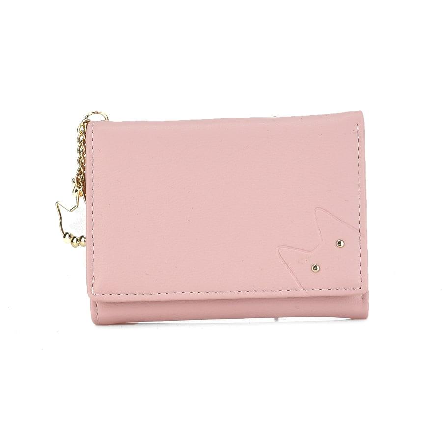 Ροζ πορτοφολάκι T6039-016