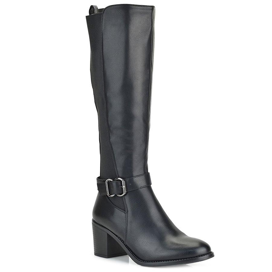 Μαύρη μπότα QS3513