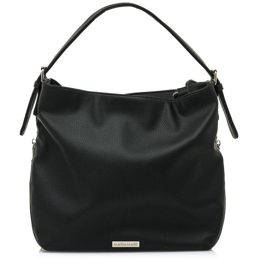 Μαύρη τσάντα ώμου MariaMare RODA