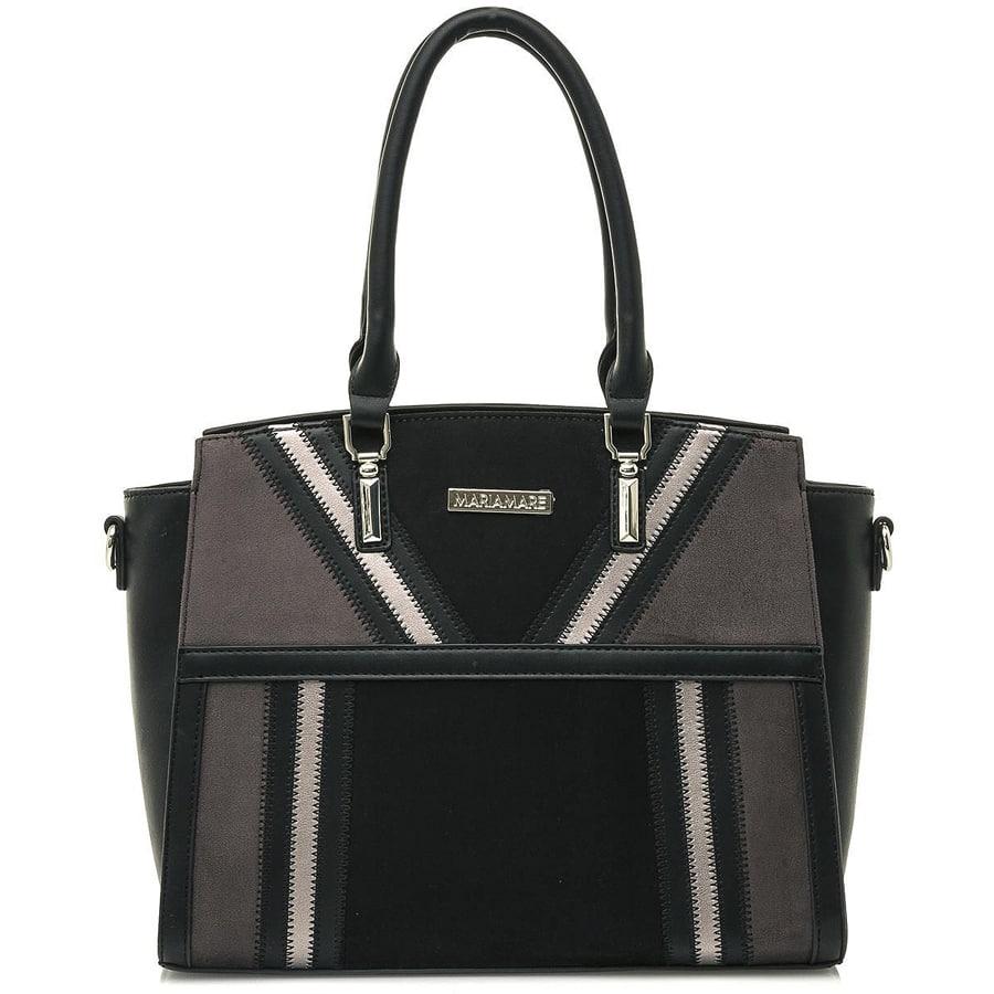 Μαύρη τσάντα χειρός MariaMare SHIRA