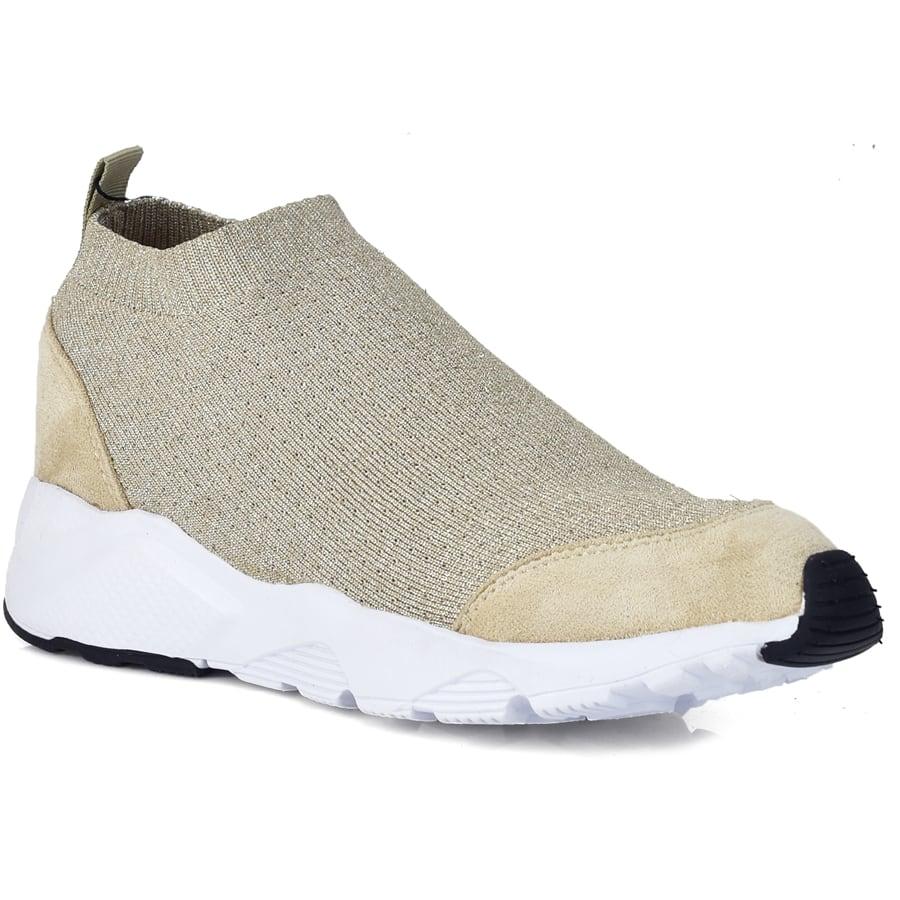 Χρυσό sneaker Francescomilano V35