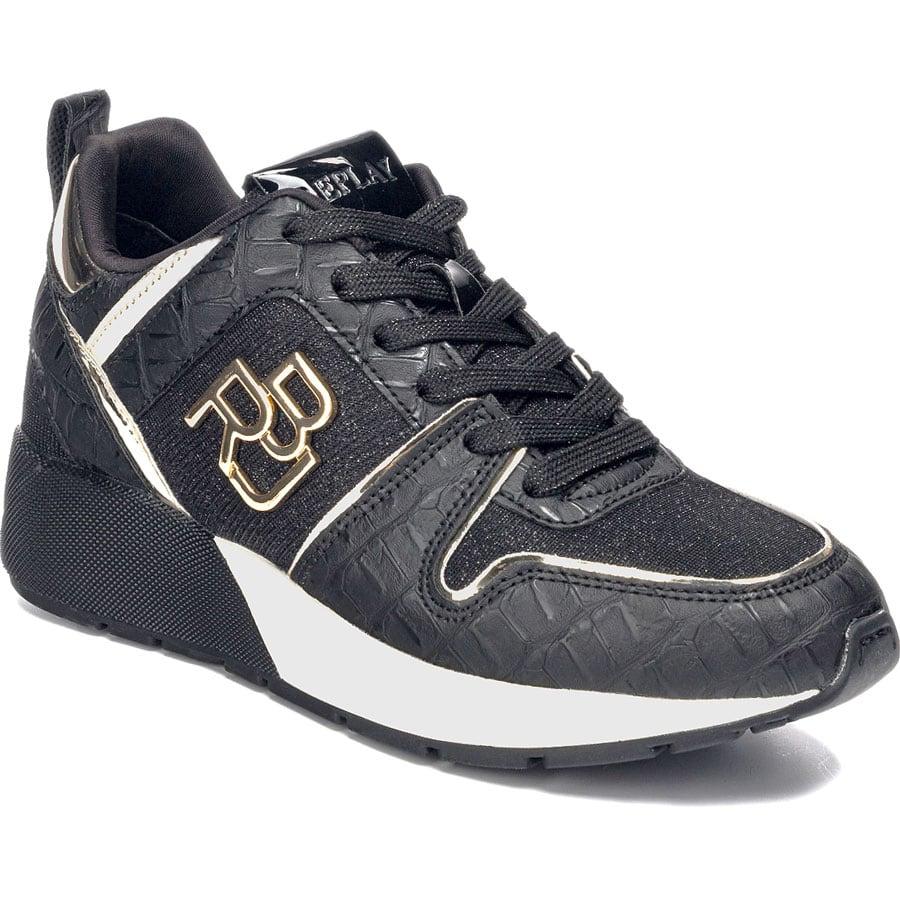 Μαύρο sneaker REPLAY WYATT