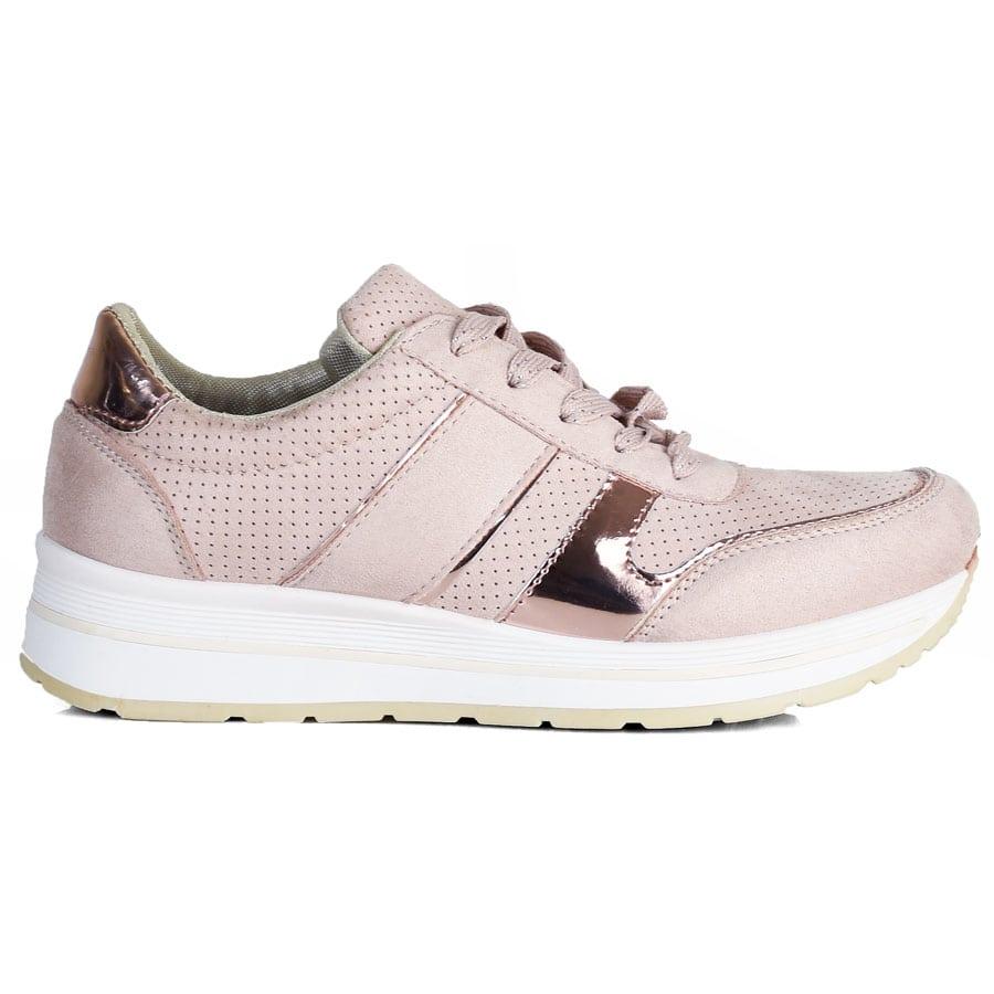 Ροζ sneakers X9705