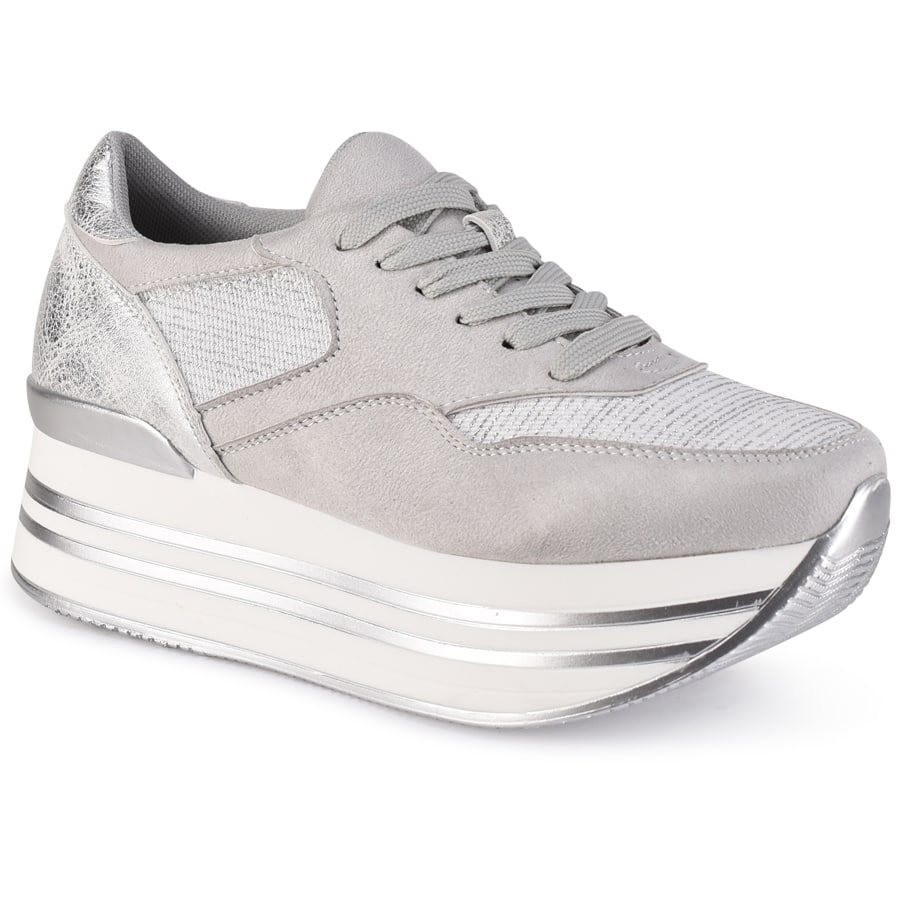 Γκρι sneakers ZX005A-1